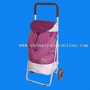 Aluminum Shopping Cart with Large-volume Bag