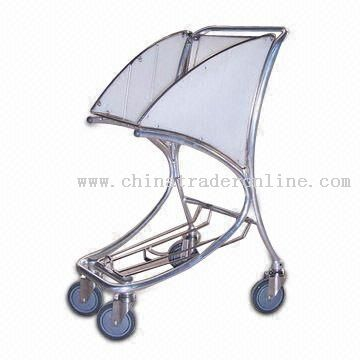 Shopping Cart with Gloss Anodized Finish