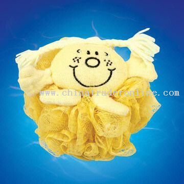 Animal Sponge in Mesh Material from China