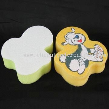 Die-cut Bath Sponges