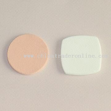 NBR Makeup Sponges in Two Shapes from China