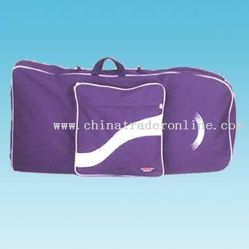Bodyboard Bag with PVC Mesh-Edged Fin Pocket at Front