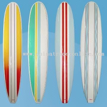 NXB Surf Boards with Fun Stripes