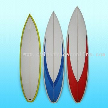 Surfboards Made of Australian Blank and Resin