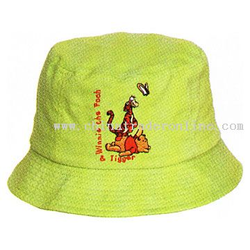 100% Cotton Children Fishing Cap