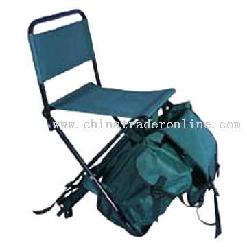 Wholesale fishing tackle backpack constructed of rugged for Fishing backpack chair