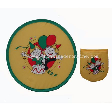 Nylon Foldable Frisbee from China