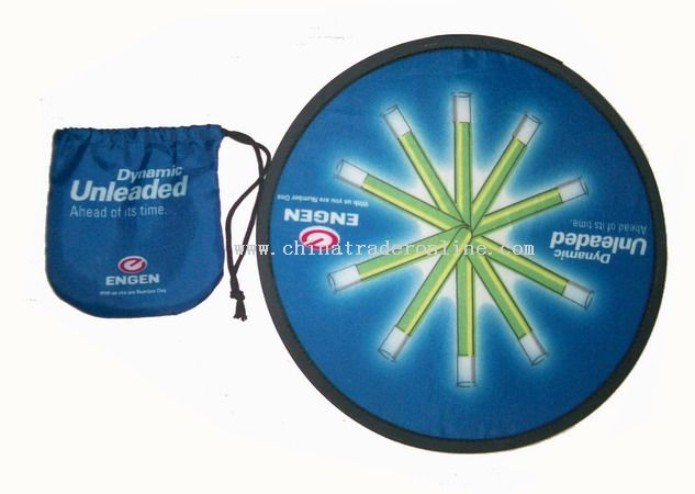 Nylon Foldable Frisbee