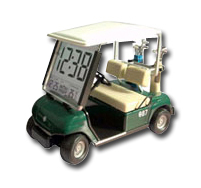 Golf car for promotion