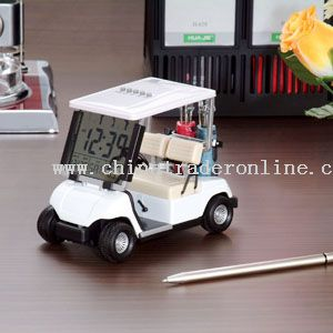 Promotional Golf Cart with Led Clock