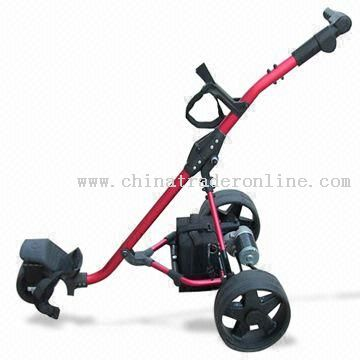Electric Golf Trolley with Maximum Speed of 6.5kph
