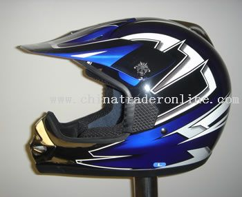 FIBER GLASS CROSS HELMET