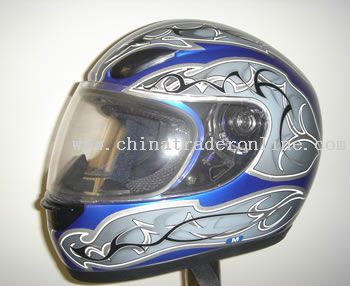 GLASS FIBER FULL FACE HELMET