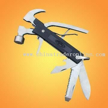 Stainless Steel Multi-tool Hammer For Travel, Camping, Fishing and Gardening
