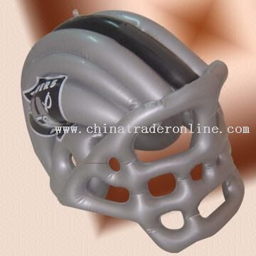 Inflatable Helmet Made of EN 71-certificated PVC