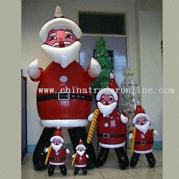 Inflatable PVC Santa Claus from China