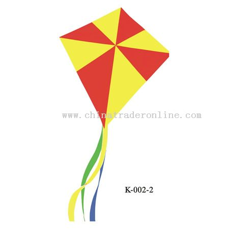 Traditional shape with long tail Diamond Kite from China