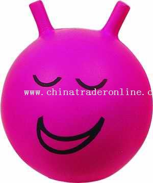 PU Smile Face Ball from China