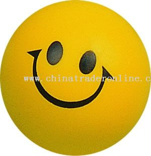 PU Smile Face Ball