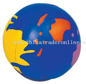 Pu Colorful Globe