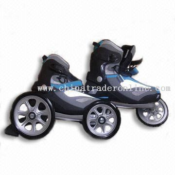 In-line Skates with Aluminum Frame