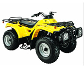 250cc 4-stroke double cylinder air-cooled ATV