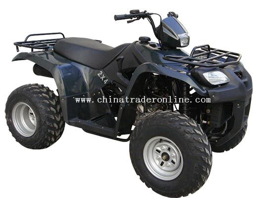 260CC Water Cooled Shaft Drive Digital & Analog Gauges ATV
