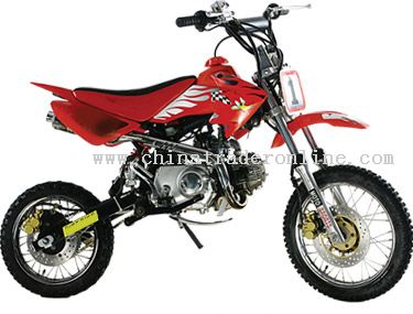 110cc 4 stroke manual clutch Dirt Bike