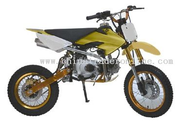 124cc air cooled 4 stroke Dirt Bike from China