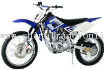 single cylinder, air-cooled, four stroke Dirt Bike