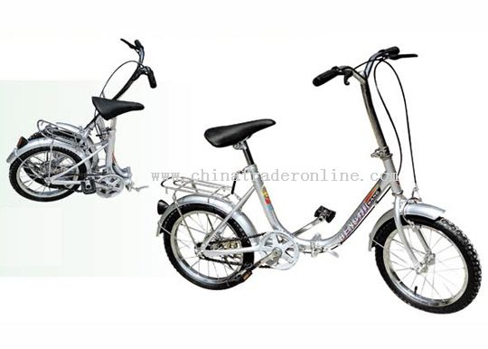 16inch steel U frame FOLDING BICYCLE