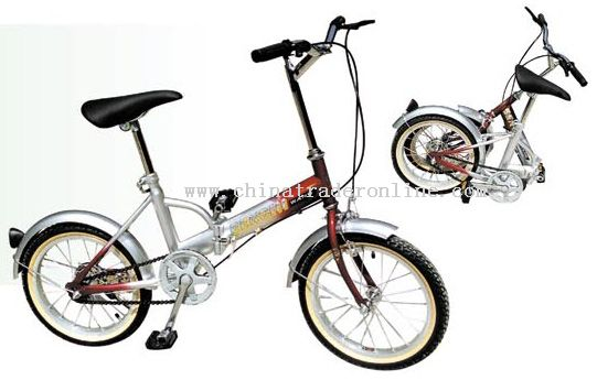 16inch steel frame FOLDING BICYCLE