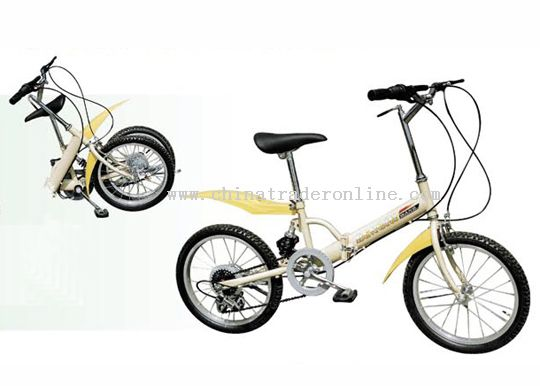 18inch steel suspension frame FOLDING BICYCLE
