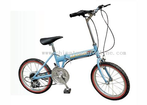 20inch steel frame FOLDING BICYCLE