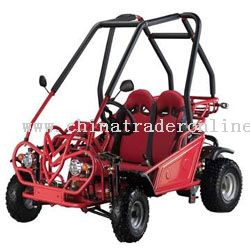 90cc single cylinder 4-stroke air-cooled Go Karts