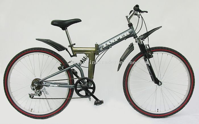 folding suspensiton bike
