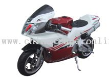 110cc, 4-stroke, single-cylinder, air-cooled Pocket Bike