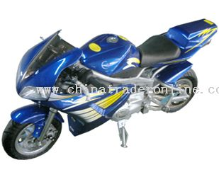 110cc, sigle-cycline, 4-stroke, air-cool, infinitely variable speeds Pocket Bike