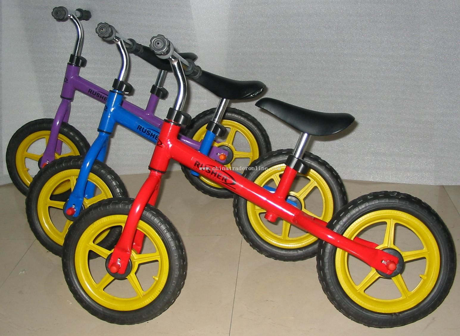children walking bike