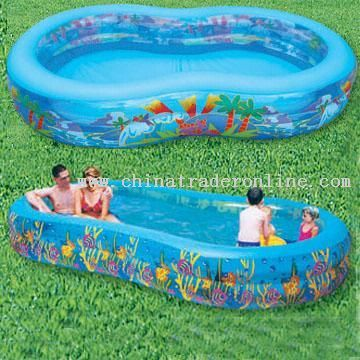 Inflatable Pool with Printing