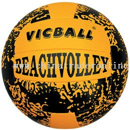 hand sewn volleyball