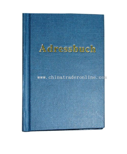 Address Book from China
