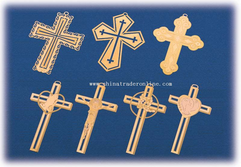 Cross Bookmark from China