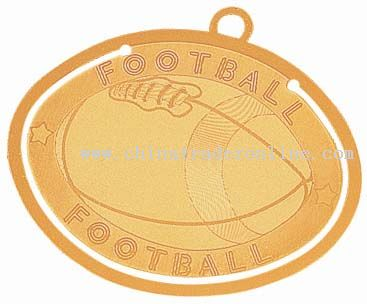 Football Bookmark