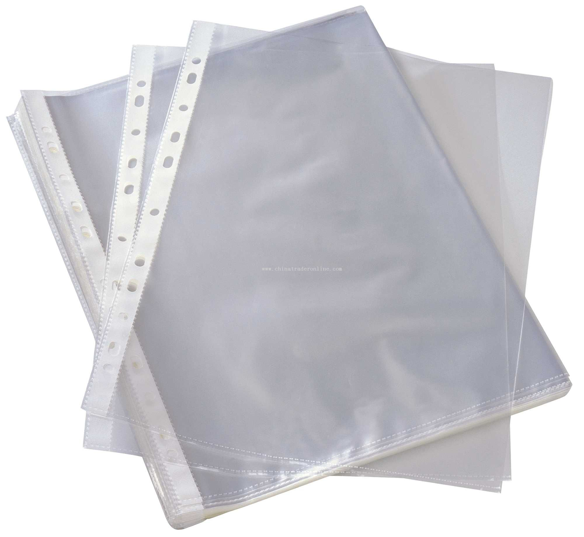11-hole PP loose leaf bag