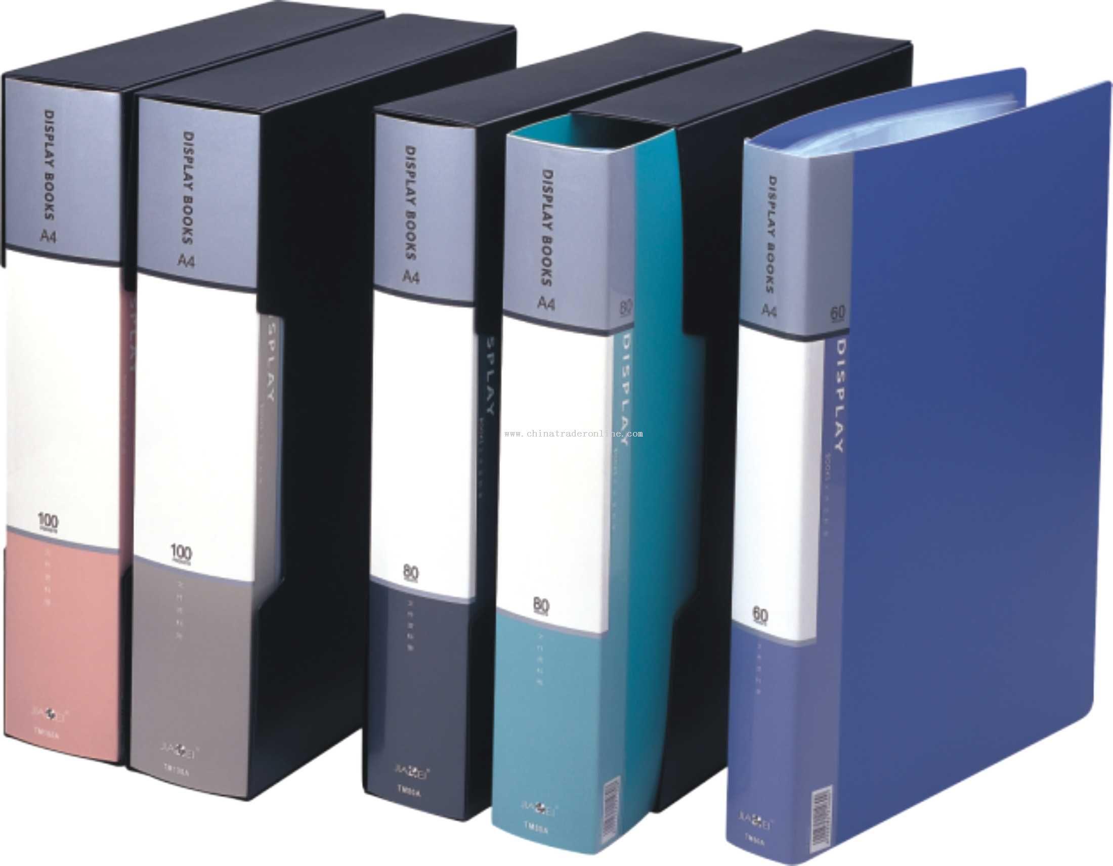 Economical display books(60-100 inner bag)