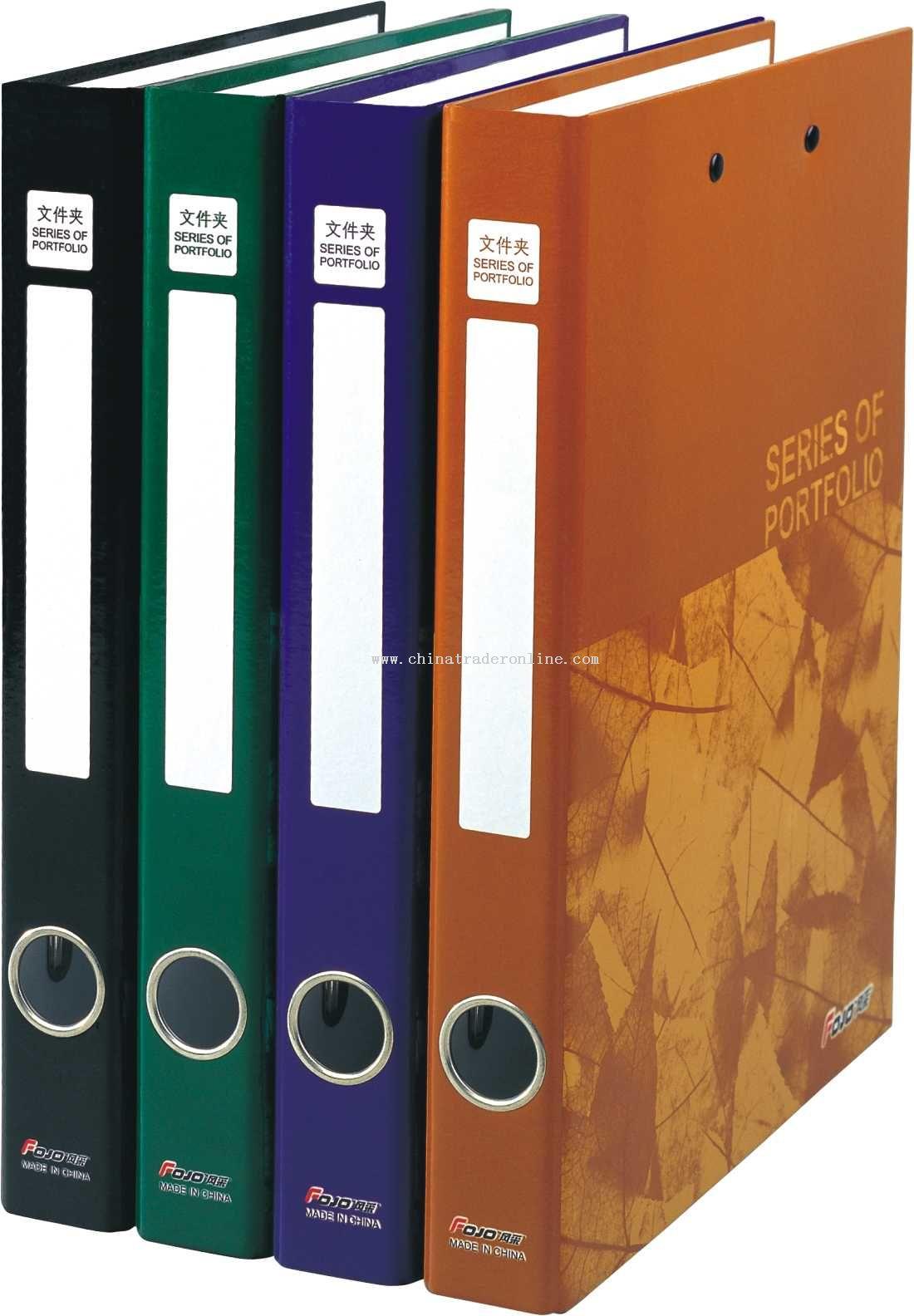 1.5-inch cardboard file folder (fashional color printing)