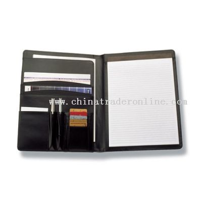 A4 Pad Cover with provisions for pens, credit cards & documents from China