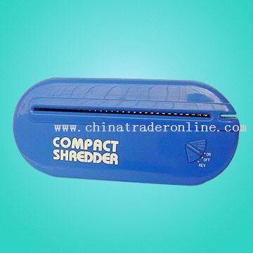 Desktop Shredder and Letter Opener