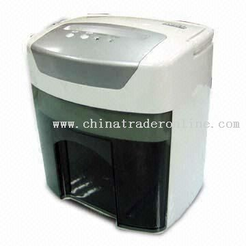 Paper Shredder with Microswitch to Protect from Overheating